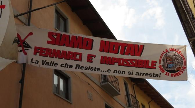 Solidarietà ai fratelli del Terzo Valico: fermarci è impossibile!