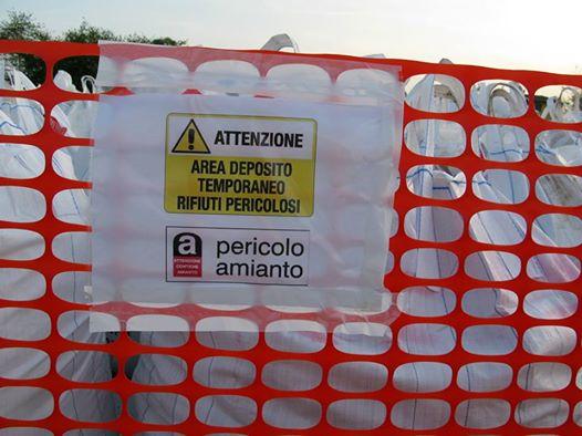 deposito amianto