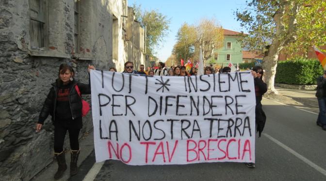Riunioni Comitato NO TAV Brescia – ogni 2° e 4° lunedì del mese in via Monte Nero 11 alle 21:00