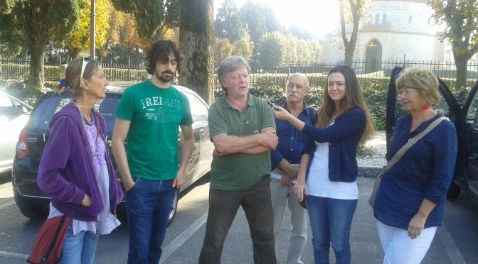 CONFERENZA STAMPA DI PRESENTAZIONE DELLA PASSEGGIATA DI DOMENICA 5 OTTOBRE A SAN MARTINO DELLA BATTAGLIA ( DESENZANO )