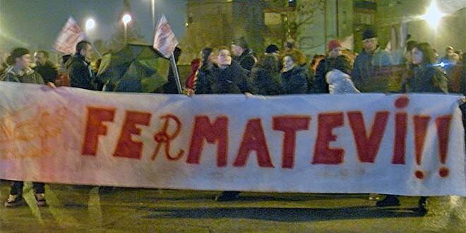 VICENZA: FIACCOLATA POPOLARE NO TAV