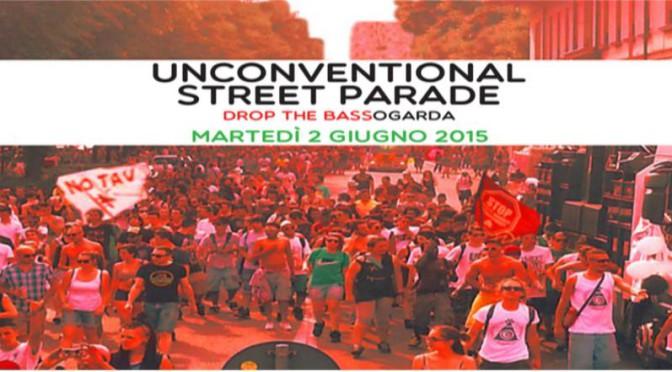 2 giugno: spezzone NO TAV alla Unconventional Street Parade di Desenzano