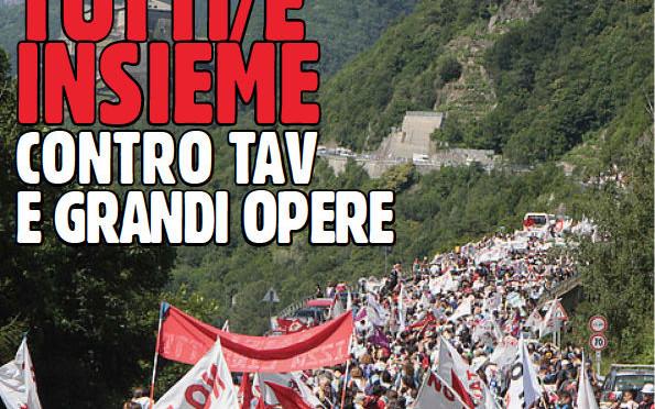 VAL SUSA – 28/6: MARCIA NO TAV AL CANTIERE DI CHIOMONTE DI NUOVO TUTTI E TUTTE INSIEME!