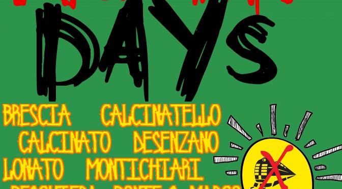 INFO NO TAV DAYS – 2/3/4 OTTOBRE DA BRESCIA A VERONA: SCOPRITE TUTTE LE INIZIATIVE!