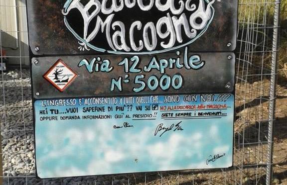 "DISCARICA MACOGNA: NASCE ""BAITA MACOGNA"" UN PRESIDIO PER RESISTERE E LOTTARE INSIEME"