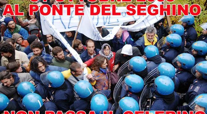 31 OTTOBRE 2005 AL PONTE DEL SEGHINO NON PASSA IL CELERINO