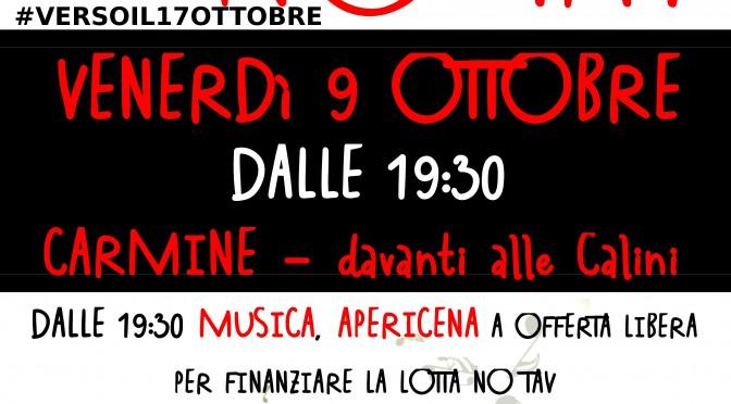 Più di 1000 firme: si continua con gli #infonotavdays! Il 9 ottobre APERICENA NO TAV in Carmine a Brescia!
