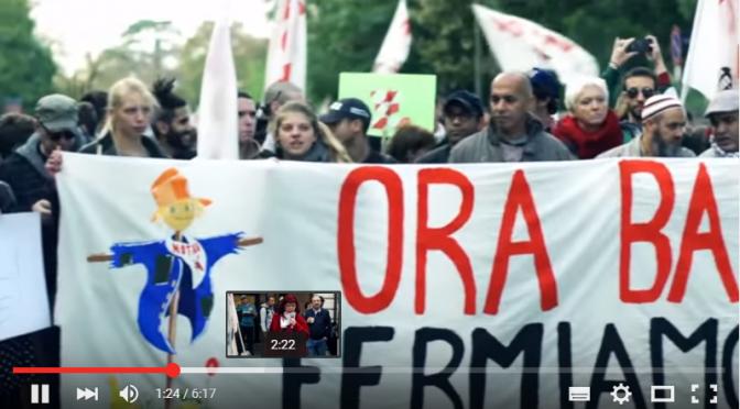 """Video marcia No Tav del 17 ottobre a Desenzano """"ORA BASTA! FERMIAMO IL TAV!"""""""