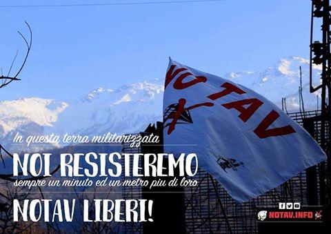 Val Susa: oggi operazione dei carabinieri contro i No Tav – SOLIDARIETA' A TUTTI E TUTTE!