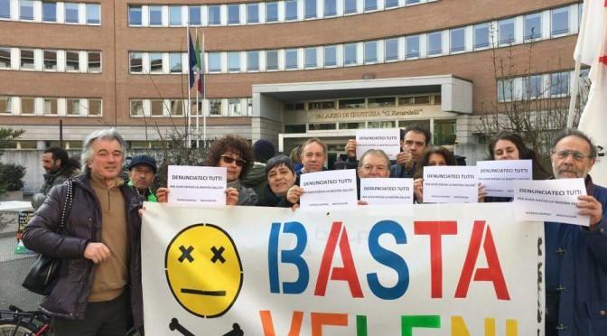"""27/4: presidio """"Denunciateci TUTTI per aver DIFESO LA NOSTRA SALUTE!"""" al tribunale di Brescia"""