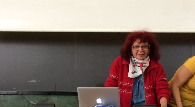"""Nicoletta Dosio a Roma : intervento a sorpresa in apertura all'assemblea nazionale """"c'è chi dice no"""""""