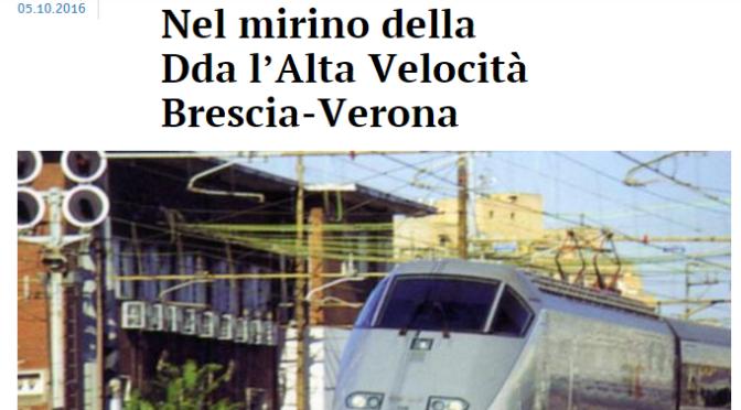 """Nel 2014 Renzi riguardo le grandi opere disse: """"chi ruba va fermato"""" – E ora premier cosa ne facciamo del TAV?"""