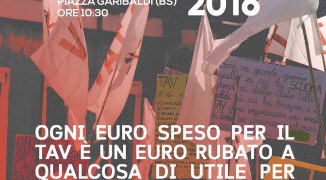 10 dicembre – Corteo NO TAV a Brescia: ritrovo 10:30 piazzale Garibaldi!