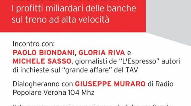 24/3 GRANDI OPERE O GRANDI AFFARI? Serata informativa a Verona