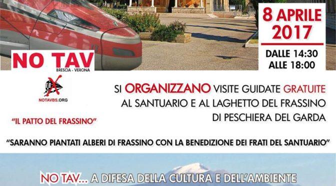 Domani visite guidate #notav al Santuario e Laghetto del Frassino @ Peschiera del Garda!