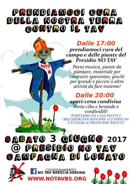 PRESIDIO NO TAV 3 GIUNGO2017