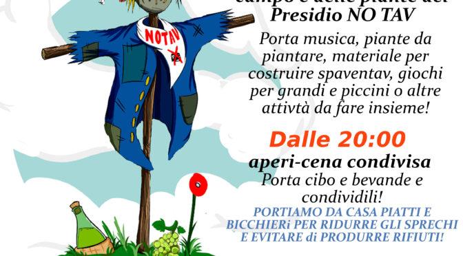 3/6 giornata NO TAV al presidio di Campagna di Lonato! Non mancate!