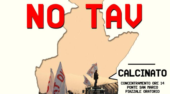 7 OTTOBRE: MARCIA NO TAV @ CALCINATO! FERMARLO TOCCA ANCORA A NOI!