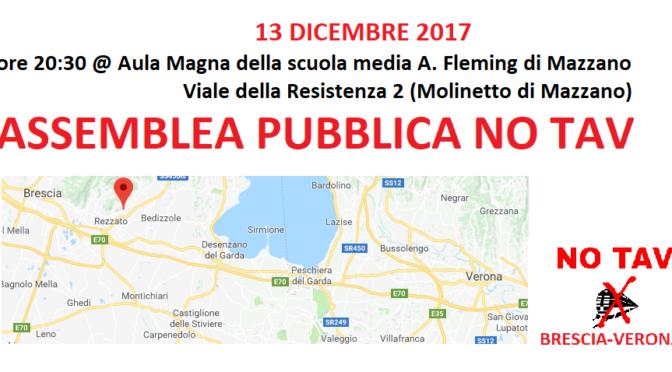 13/12 Assemblea pubblica NO TAV @Mazzano