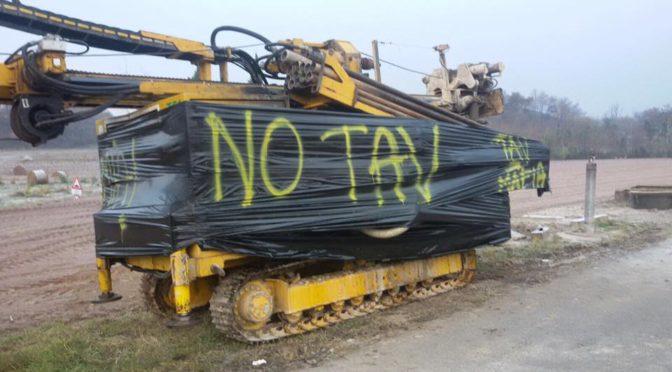 Un 8 dicembre in difesa dei territori: sanzionate le trivelle del TAV a Lonato!