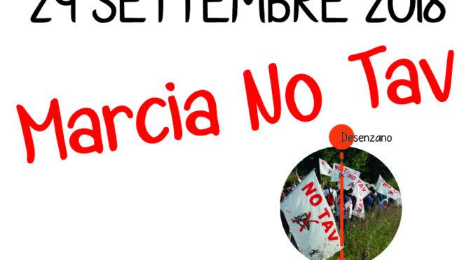 29 settembre: marcia NO TAV sul BASSO GARDA!