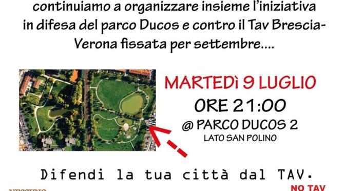 9/7 riunione al parco ducos 2 per organizzare la lotta no tav @ Brescia!