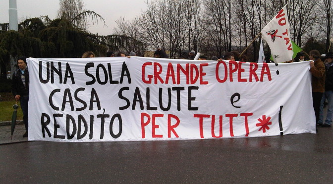 #20gennaio: le lotte si uniscono e Brescia si solleva!
