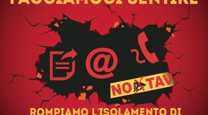 FACCIAMOCI SENTIRE: ROMPIAMO L'ISOLAMENTO DI CHIARA, CLAUDIO, MATTIA, NICCOLO'
