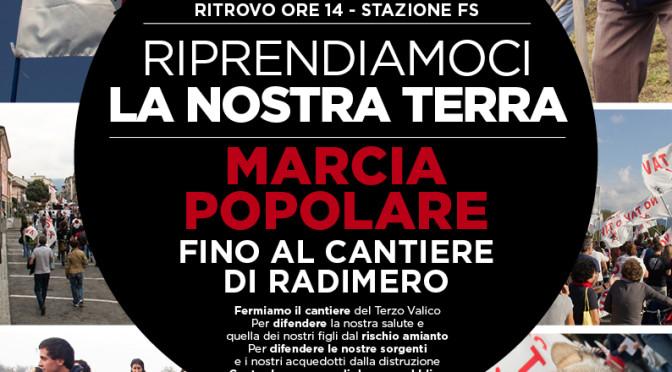 #5aprile: marcia popolare fino al cantiere di Radimero – Terzo Valico