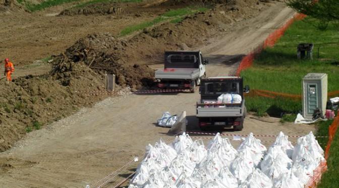 Amianto nei cantieri TAV di via Roncadelle