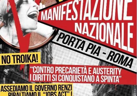 #12aprile: manifestazione nazionale a Roma!