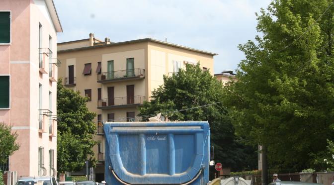 Un'altra giornata in via Toscana!