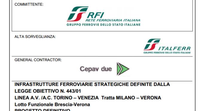 Valutazione di impatto ambientale (VIA) tratta AV/AC Milano-Verona