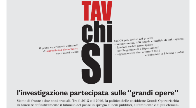 TAV CHI SI (sabato 18 aprile in occasione del festival del giornalismo di Perugia)