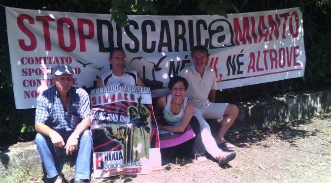 LA LOTTA PAGA, ORA PAGHI CHI CI AVVELENA: vittoria del Comitato Spontaneo Contro le Nocività a Brescia
