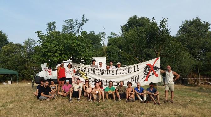 1° campeggio NO TAV a Lonato: fermarlo è sempre più possibile e lo faremo insieme!