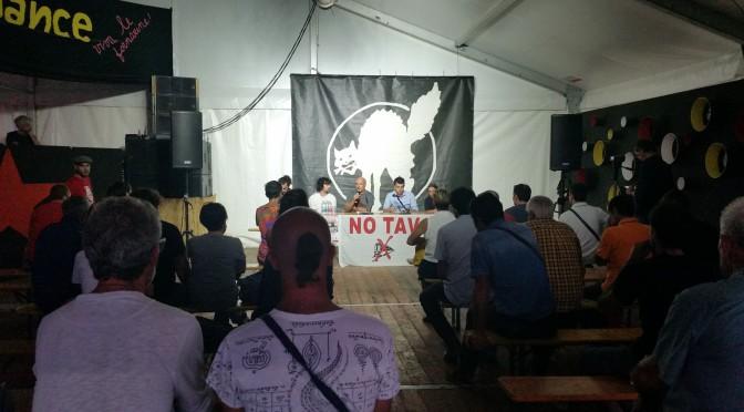 Confronto No Tav e prossimi passi della lotta contro l'alta velocità – resoconto del dibattito del 25 agosto alla festa di Radio Onda d'Urto