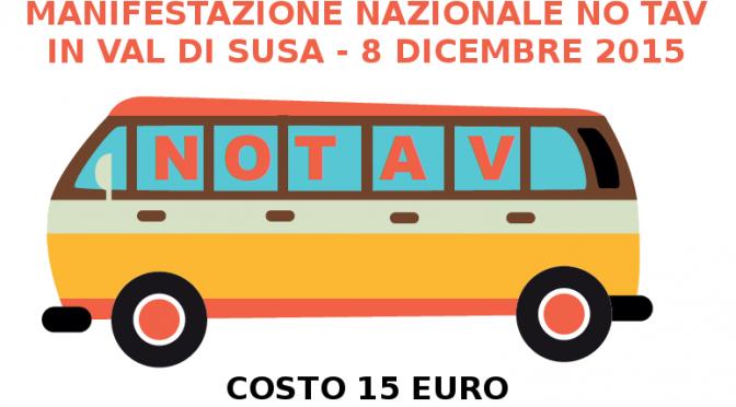 8/12: pullman da Brescia per la manifestazione nazionale NO TAV in Val di Susa!