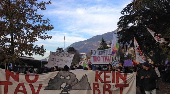 TRENTINO – Un buon risultato del movimento NO TAV:  la Landservice rinuncia ai carotaggi