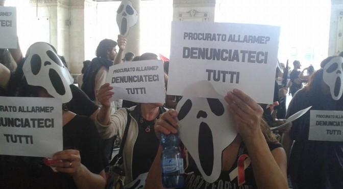 """DOMANI MATTINA: presidio al tirbunale per i denunciati dell'occupazione dell'ASL """"DENUNCIATECI TUTTI PER AVER DIFESO LA NOSTRA SALUTE!"""""""