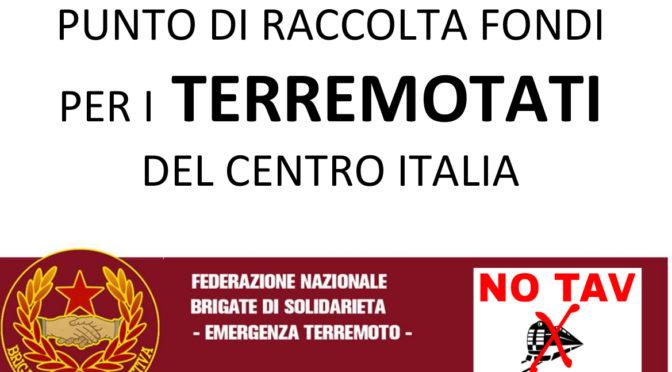 Elenco punti raccolta fondi per i terremotati da Brescia a Verona – in aggiornamento