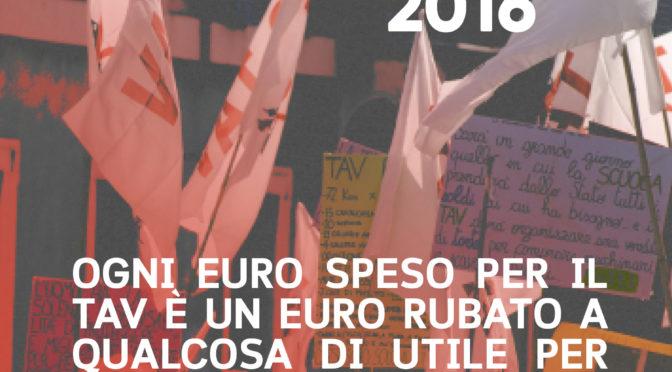 10 dicembre 2016 – CORTEO NO TAV a Brescia: OGNI EURO SPESO PER IL TAV E' UN EURO RUBATO A QUALCOSA DI UTILE PER TUTTI E TUTTE!