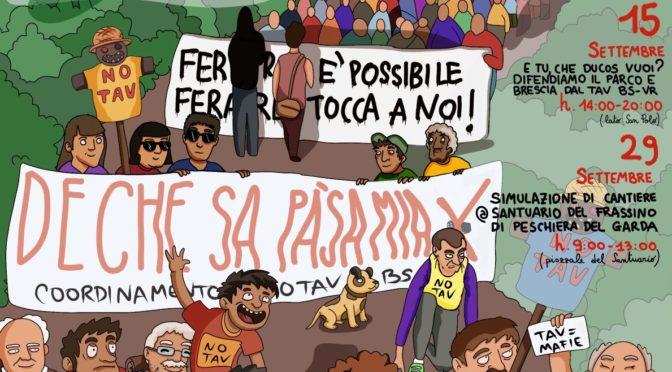 5 ottobre: partenze collettive da Brescia, Mantova e Verona