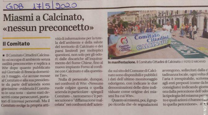 solidarietà a laura corsini e al comitato cittadini calcinato: chi difende salute e territori non deve più essere attaccato!