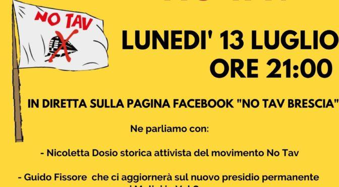 resistenza no tav sui territori – diretta facebook lunedì 13 luglio ore 21.00!