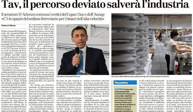 ANCORA MENZOGNE SUL PROGETTO  AC/AV BRESCIA-PADOVA: lavoratori e aziende a rischio!